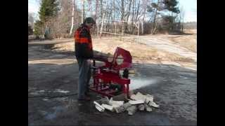 Home firewood machine Profilogger HOME