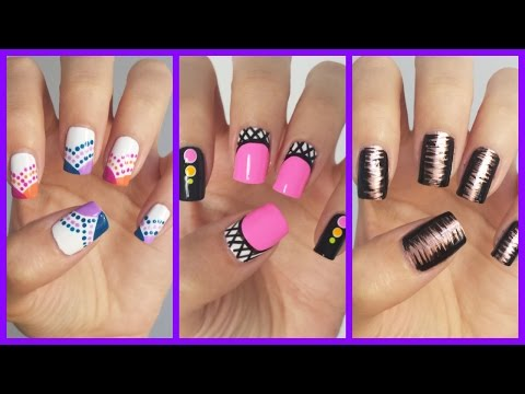 Easy Nail Art For Beginners!!! #15 | MissJenFABULOUS