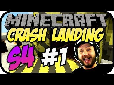 Crash Landing S4 #01 - Neustart im Stream [Let's Play][Deutsch][Minecraft]