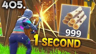 MAX WOOD IN 1 SECOND..!!! Fortnite Daily Best Moments Ep.405 (Fortnite Battle Royale Funny Moments)