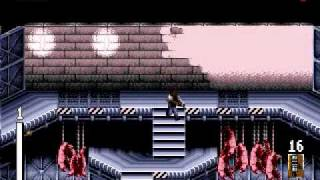 Predator 2 (Genesis) game over