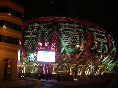 Grand Lisboa in Macau Video