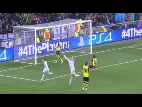 Cristiano Ronaldo Great Goal ~ Real Madrid vs Borussia Dortmund 3-0 ~ 02/04/2014