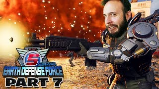 Earth Defense Force 5 Part 7 - Funhaus Gameplay