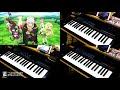 DeCIDE / SUMMONERS 2+ 主旋律&KEY 耳コピー(片手演奏) 「異世界魔王と召喚少女の奴隷魔術」OP
