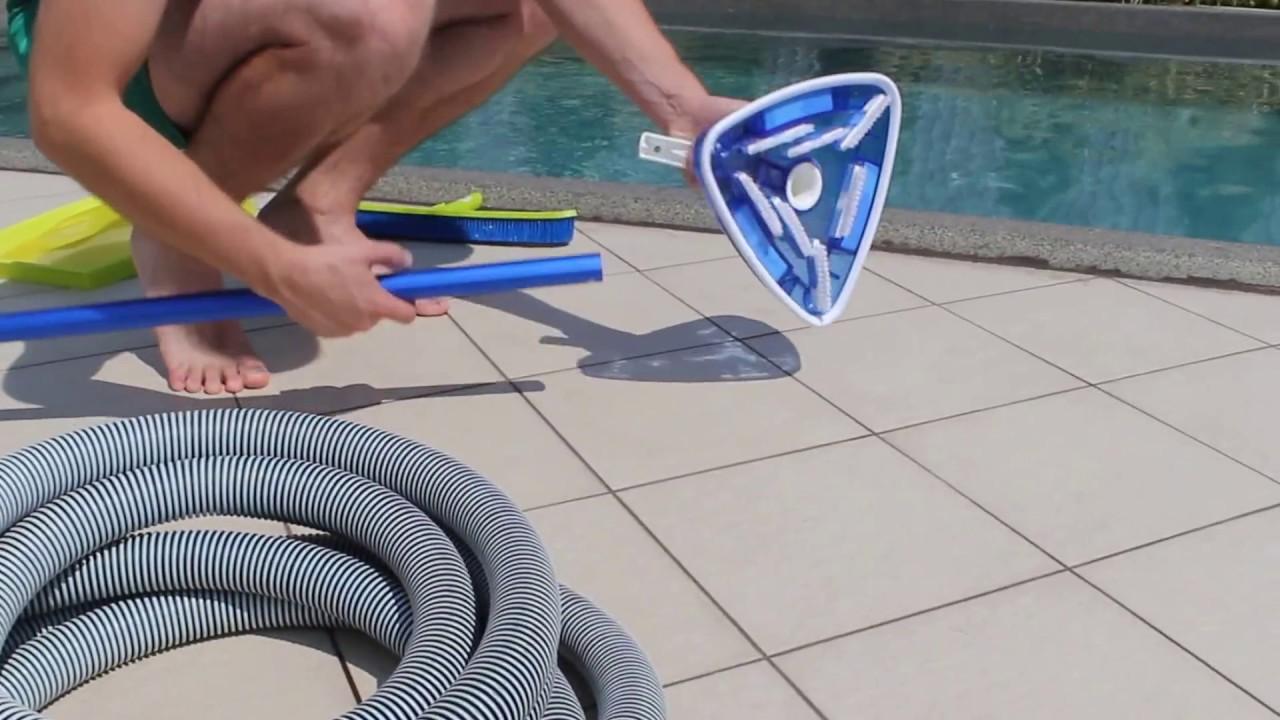 Чистка бассейнов в домашних условиях