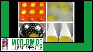How to make Vodka Orange Liquid Raviolis - Reverse Spherification - Molecular Recipes