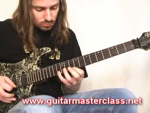 Emir Hot - Sliding Arpeggios lesson - GMC