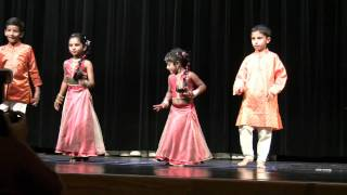 My 3 and half year old first ever stage performance, and her first stage dance to the tune of the malayalam song from Chronic Bachelor