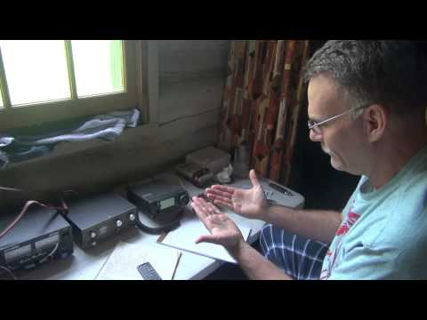 N6tlu QSO Drummond Island field battery operation QRP Ham Radio