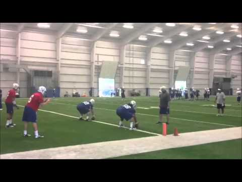 Raw video from Colts rookie minicamp