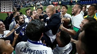 Real Madrid Win La Liga On Wild Final Day