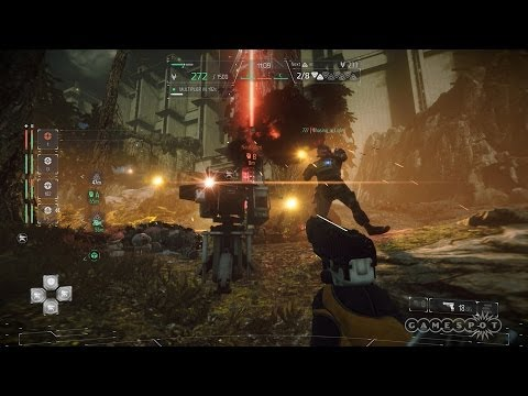 Co-op Combat - Intercept DLC - Killzone: Shadow Fall Gameplay