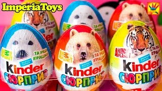 Kinder Surprise Animal Planet NEW Kinder Surprise 2015 ImperiaToys