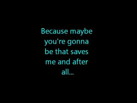 Oasis-Wonderwall (Lyrics)