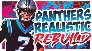 Rebuilding The Carolina Panthers - Madden 20 Connected Franchise Realistic Rebuild