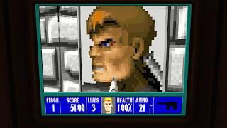 BEST EASTER EGG IN WOLFENSTEIN 2! (Wolfenstein 3D)