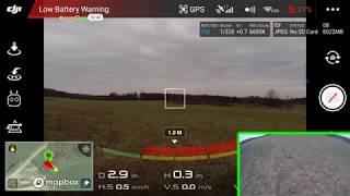 DJI Mavic Air - testovací let, senzory, GoHome funkce