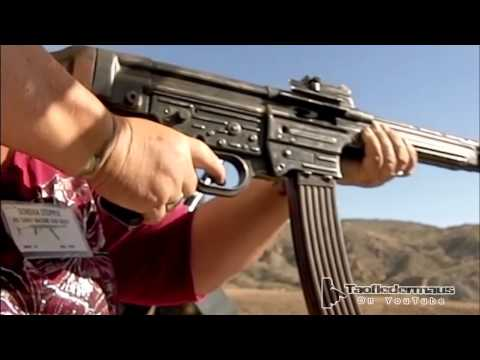 RARE!   Authentic German WW2 STG-44 Shooting Demo