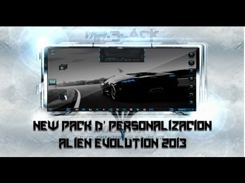 Pack D' Personalizacion Alien Evolution [2013-2014] Mr.Black