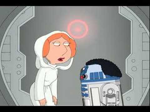 Family Guy Presents Blue Harvest:  R2-D2 Buffering  Clip