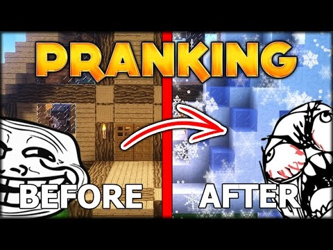 DO NOT ATTEMPT THIS WINTER PRANK TO YOUR FRIENDS   MINECRAFT CHRISTMAS #5 (Minecraft Modded SMP)