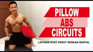 #WORKOUT PILLOW ABS CIRCUITS // LATIHAN OTOT PERUT DENGAN BANTAL