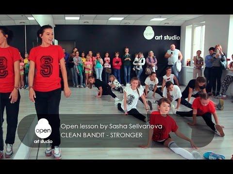 Clean Bandit - Stronger - Open lesson TOP group by Sasha Selivanova - Open Art Studio