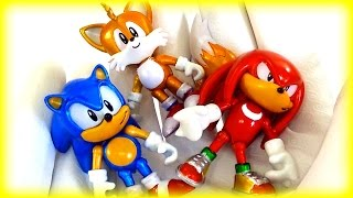 Opening Sonic Boom Sonic the Hedgehog 25th Anniversary Toys for Kids Children Toddlers