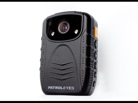 PatrolEyes HD 1080P Night Vision Infrared Police Body Worn Camera - Day / Night Footage