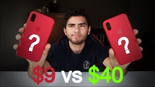 iPhone X Silicone Case REAL vs FAKE!