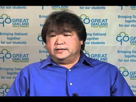 David Kakishiba responds to the question,