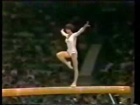 Olympic Champions - Moscow 1980 Beam - Nadia Comaneci