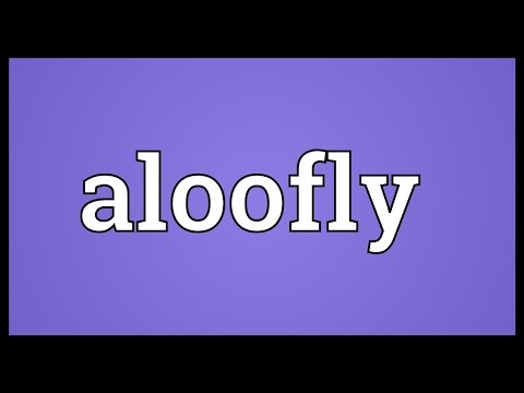 Header of aloofly