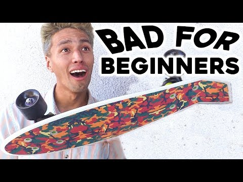 5 TYPES OF SKATEBOARDS BEGINNERS SHOULD AVOID
