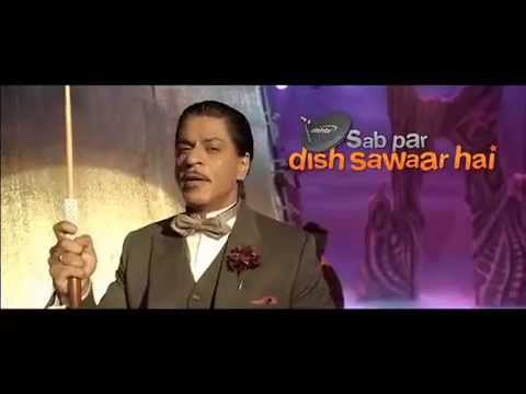 DishTV Latest AD featuring SRK - HD Movies