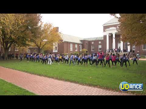 University of Delaware UDANCE 90's FLASH MOB