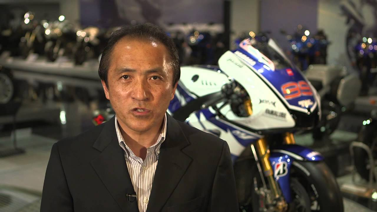 Yamaha Motor Co. President Hiroyuki Yanagi Video Message - YouTube