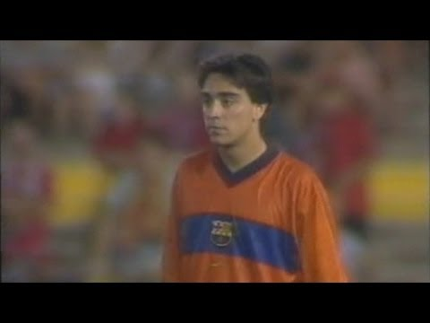 Xavi Hernández vs Mallorca (1998/1999) - Beginning of a Legend