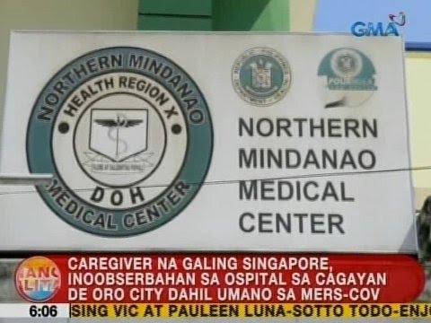 UB: Caregiver na galing Singapore, inoobserbahan dahil umano sa MERS-CoV