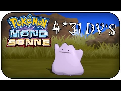 4*31 DV DITTO + SHINY FAIL! Pokémon Sonne und Mond Tutorial