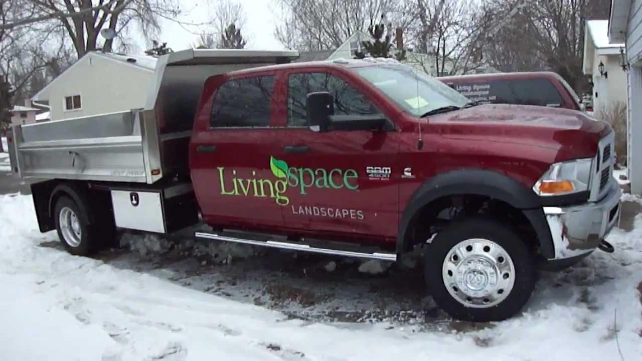 2012 Ram 4500 Crew Cab Dump Truck Youtube