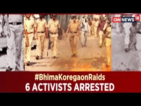 #BhimaKoregaonRaids | Is It A Crackdown Or A Witch-Hunt | Face Off | CNN News18