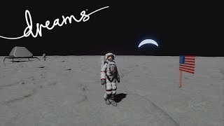Dreams PS4 - Moon Landing Neil Armstrong 1969