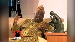 BASHORUN DELE MOMODU CHATS WITH THE KING OF TALK!