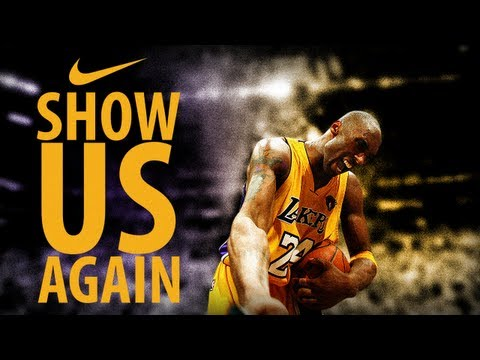 Kobe Bryant 'You Showed Us' NIKE Ad New 2013