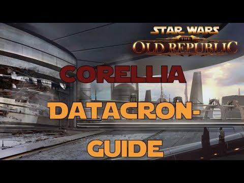 SWTOR Datacron Guide für Corellia Imperium