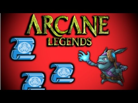 Arcane Legends Pre Goblin Event Update!