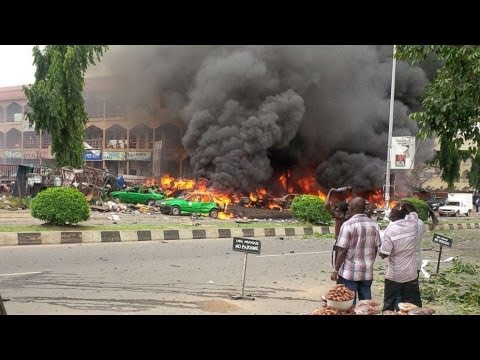 LIVE NEWS : Bomb At Nigerian Shopping Mall Kills At Least 21, body Parts Litter Exits
