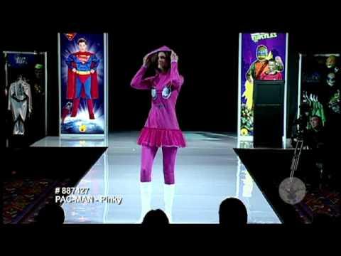 Deluxe Adult Ladies Pac Man Pinky Costume video